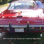"1968 Chevy Bel Aire ""memory car"" created by Mike Heisler"