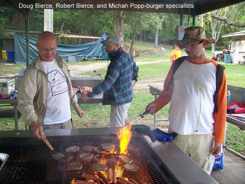 Doug Bierce, Robert Bierce, and Michah Popp-burger specialists