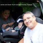 James and Sarah Wurth and son Charley Thomas