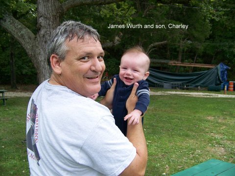 James Wurth and son, Charley