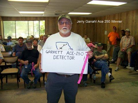 Jerry Ganahl Ace 250 Winner