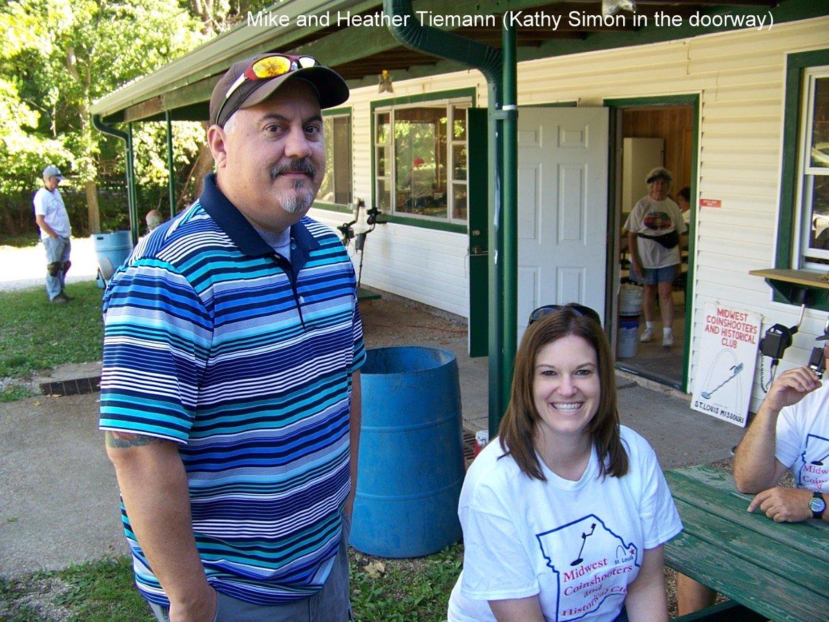Mike and Heather Tiemann (Kathy Simon in the doorway)