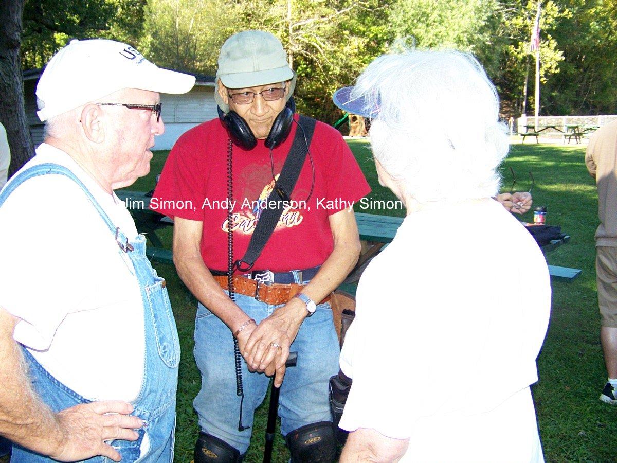 Jim Simon, Andy Anderson, Kathy Simon