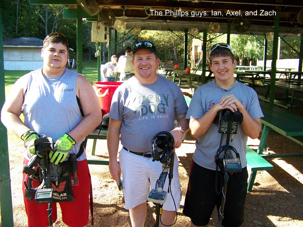 The Phillips guys: Ian, Axel, and Zach