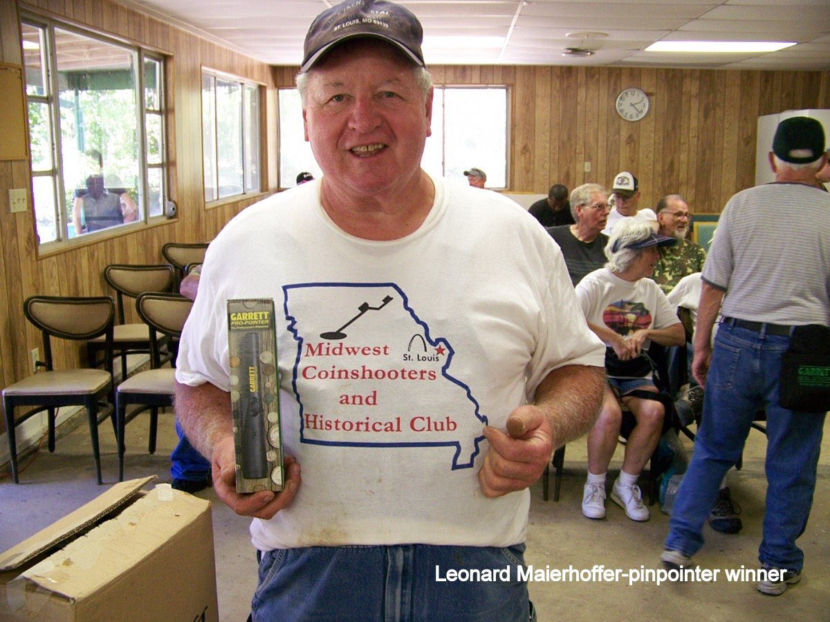 Leonard Maierhoffer-pinpointer winner